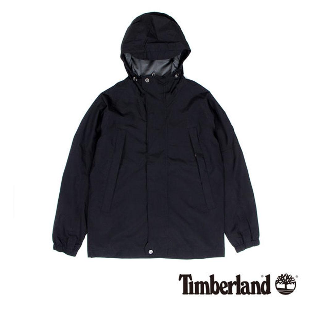 Timberland 黑色夾克式連帽外套-男款