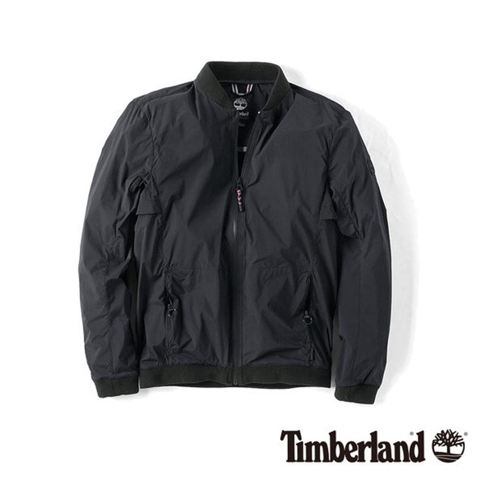 Timberland 黑色可收納Cordura飛行夾克-男款