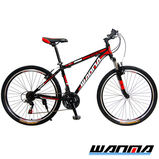 ★買就送9大配件★【WANMA】WM-1 26吋 日本SHIMANO 21速 登山車-DIY版