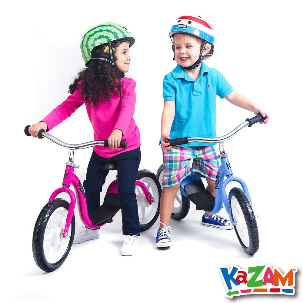 【美國 KAZAM 】兒童平衡 發泡胎 學習最佳幫手 ( 平衡滑步車 )