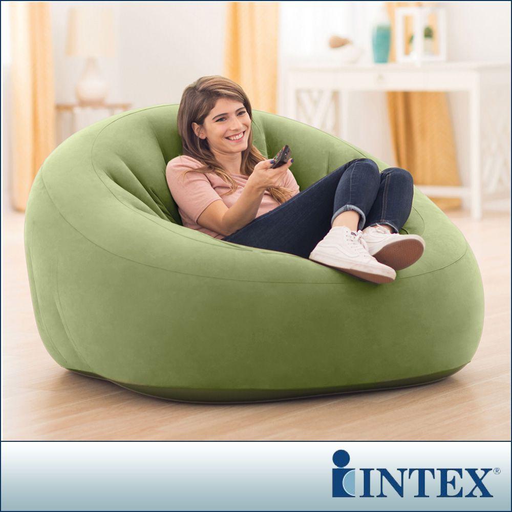 【INTEX】超大星球椅-充氣沙發椅(68576)