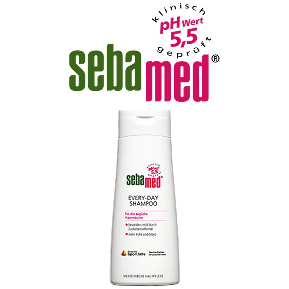 德國Sebamed施巴 每日清潔中性溫和洗髮乳pH5.5 200ml/2入