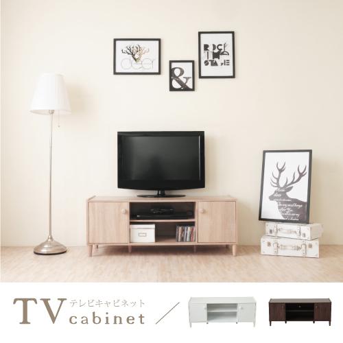 《HOPMA》和風原木系二門電視櫃/收納櫃