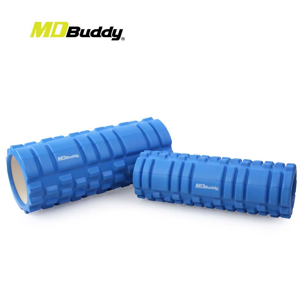 MDBuddy 按摩滾輪套組-有氧 塑身 健身 按摩滾輪 隨機@6025001@