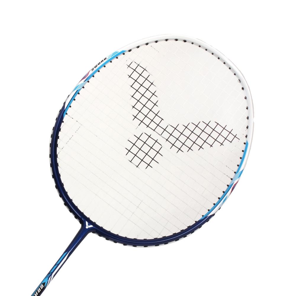VICTOR 亮劍羽球穿線拍-5U-勝利 羽毛球拍 羽球拍 丈青白@BRS-1650L-5U@