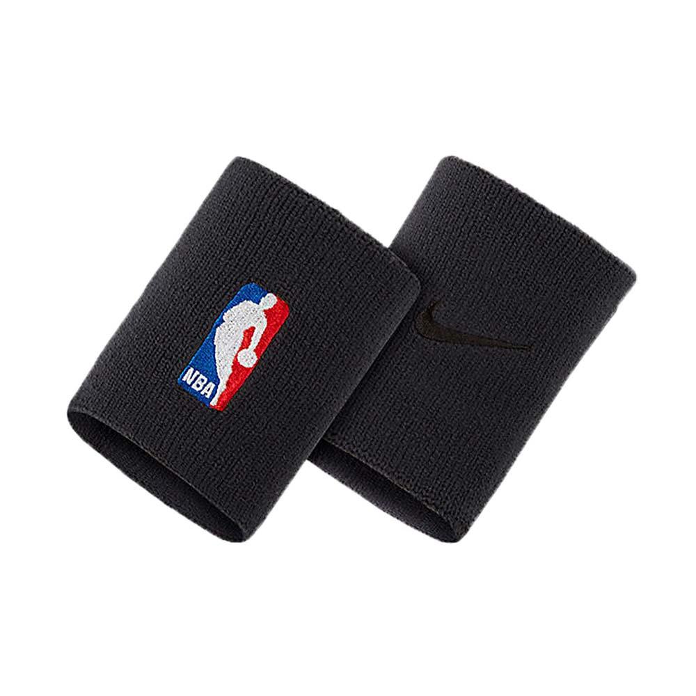 NIKE NBA DRI-FIT 護腕套-馬刺-腕帶 一雙入 路跑 籃球 飛人喬丹 黑白紅@NKN03001OS@