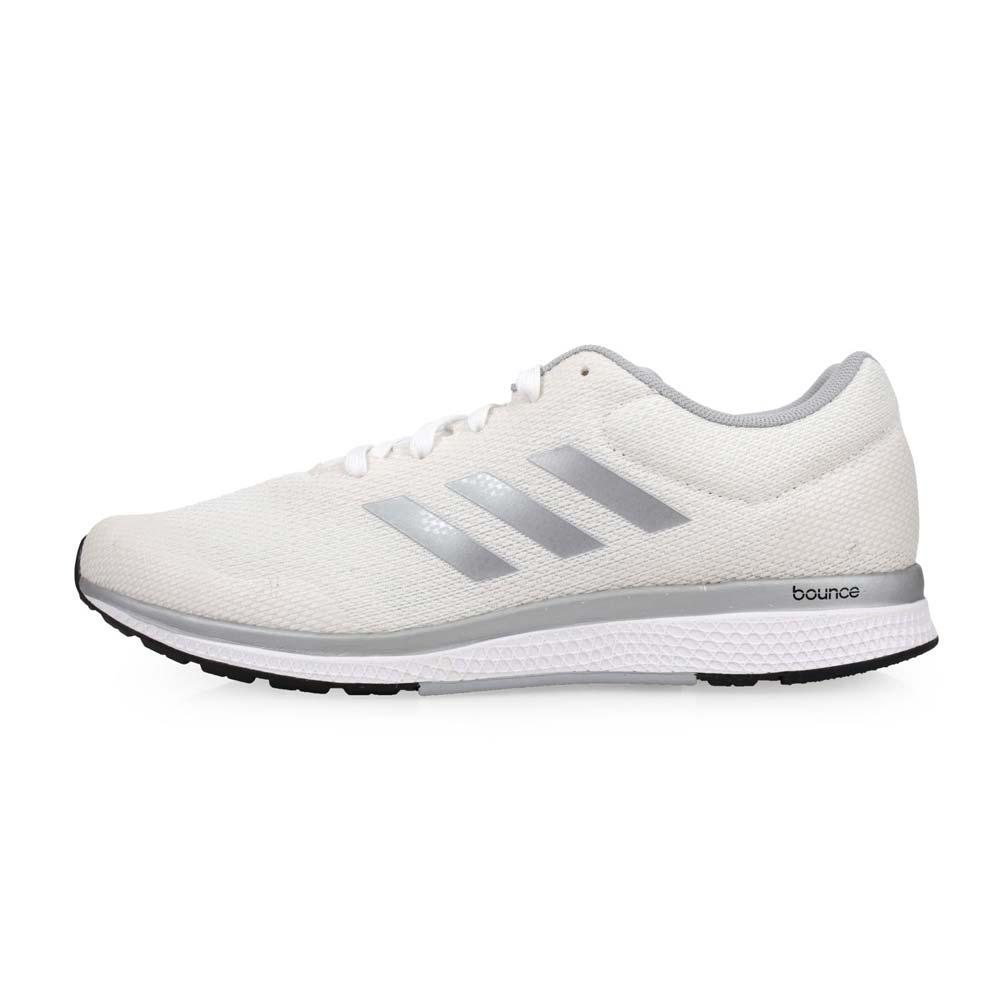 ADIDAS MANA BOUNCE 2M ARAMIS男慢跑鞋-路跑 愛迪達 米白銀@BW0564@