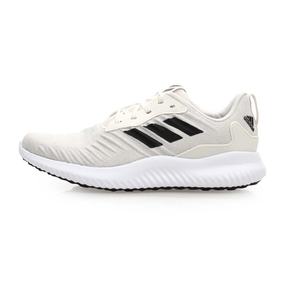 ADIDAS ALPHABOUNCE RC M 男慢跑鞋-路跑 愛迪達 米白黑@DA9770@