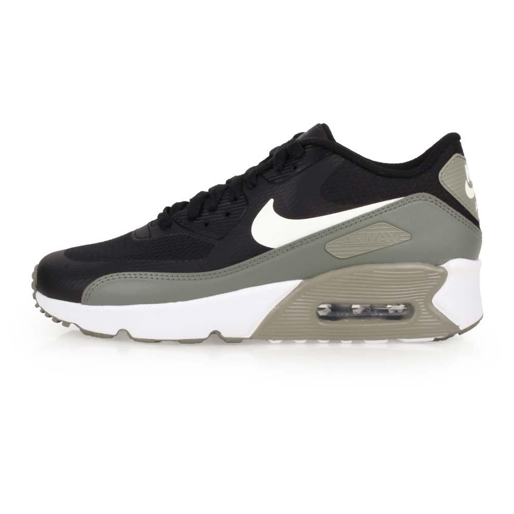 NIKE 女運動休閒鞋  AIR MAX 90 ULTRA 2.0-GS 黑白綠@869950012@