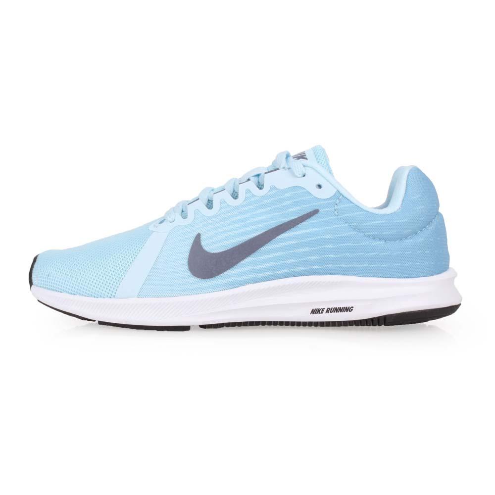 NIKE WMNS DOWNSHIFTER 8 女慢跑鞋-路跑 淺藍灰@908994400@