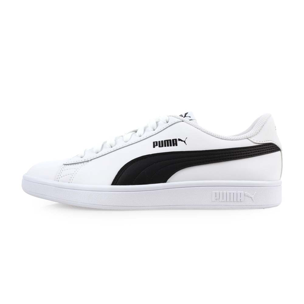 PUMA SMASH V2 L 男休閒運動鞋 白黑@36521501@