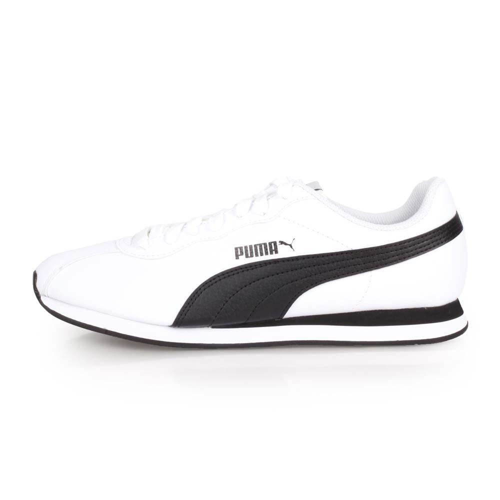 PUMA TURIN II 女休閒運動鞋-慢跑 路跑 白黑@36696204@