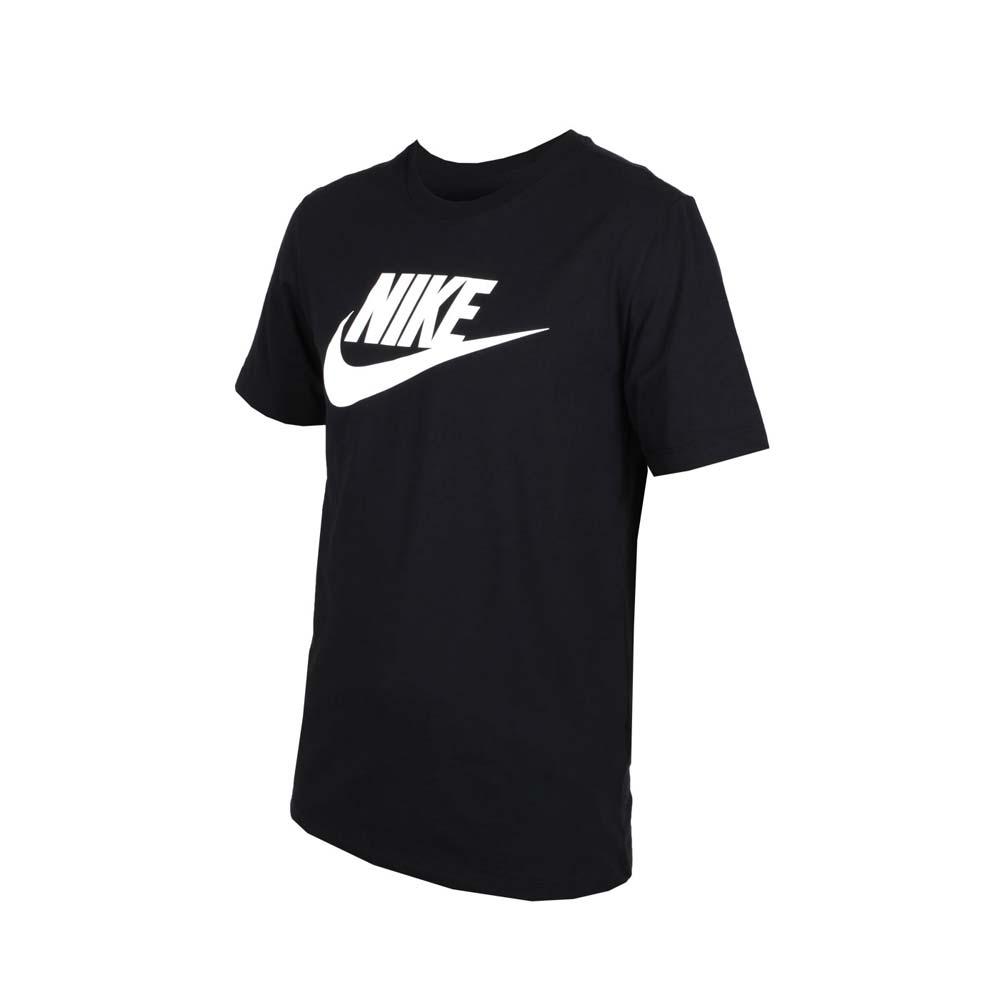 NIKE 男短袖T恤-慢跑 路跑 黑白@AR5005010@