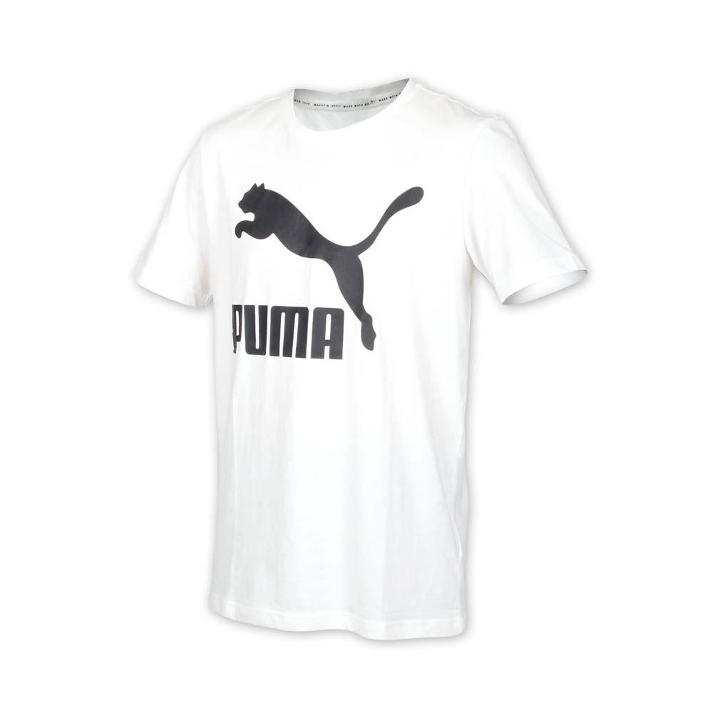 PUMA 男流行系列短袖T恤-慢跑 路跑 白黑@59513202@