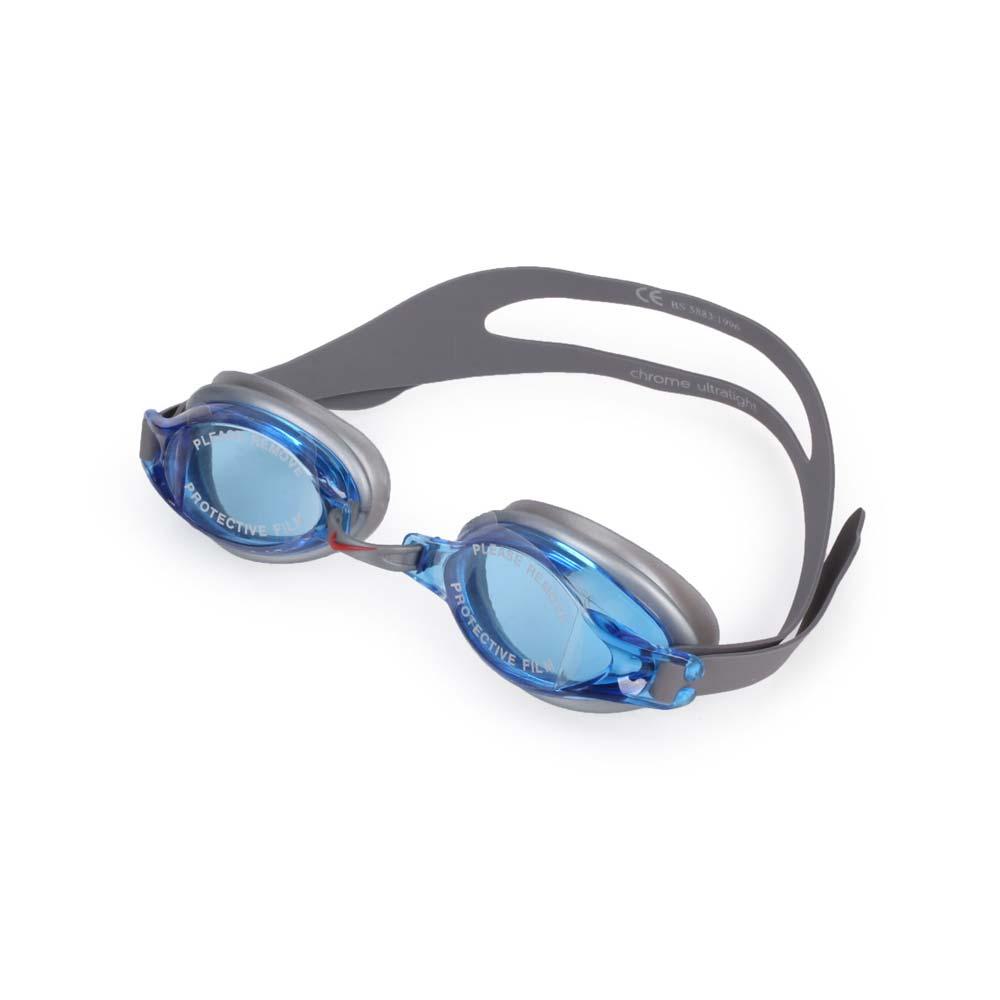 NIKE SWIM 成人泳鏡-游泳 蛙鏡 訓練 戲水 藍灰@N79151-400@