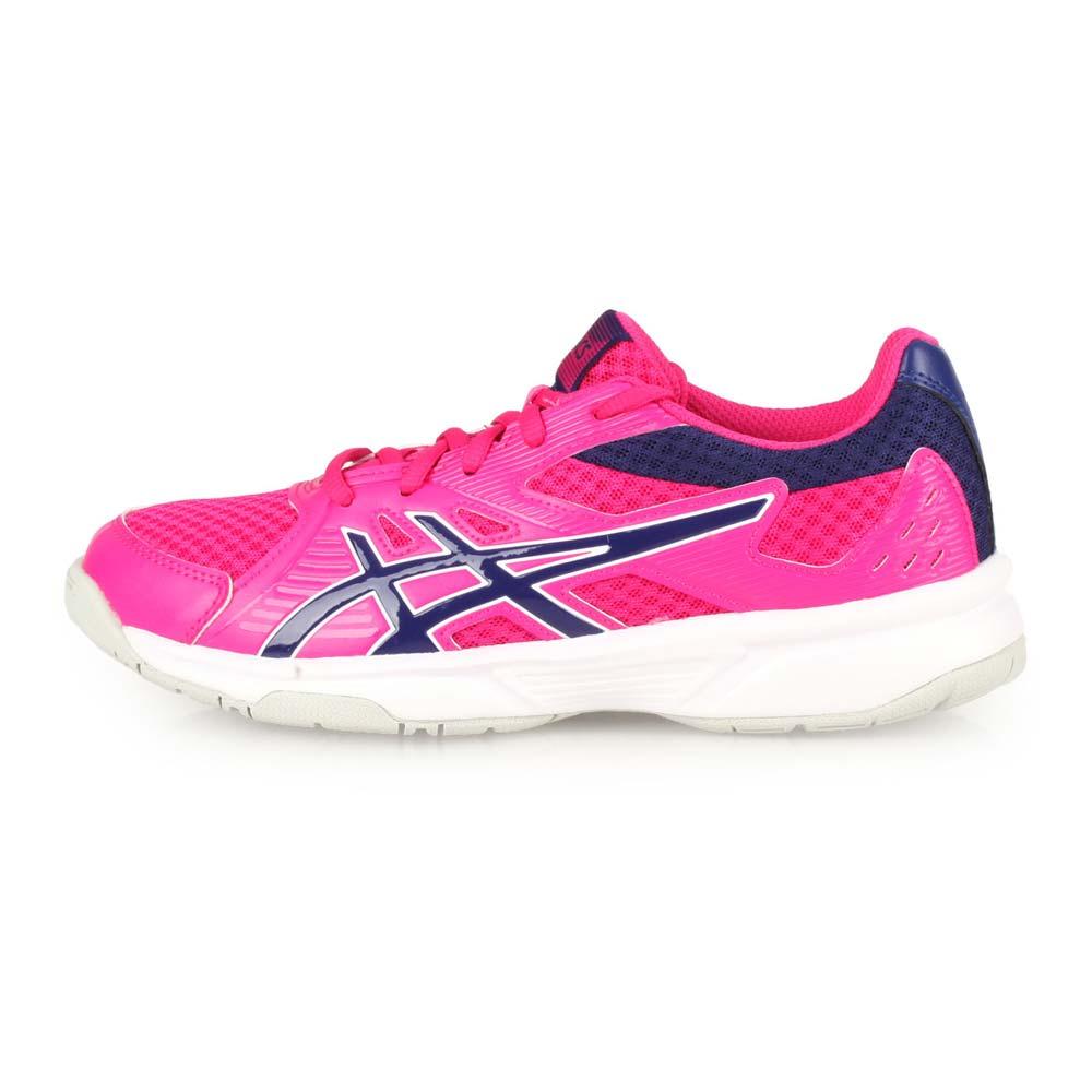 ASICS UPCOURT 3 女排羽球鞋-訓練 亞瑟士 桃紅丈青@1072A012-500@