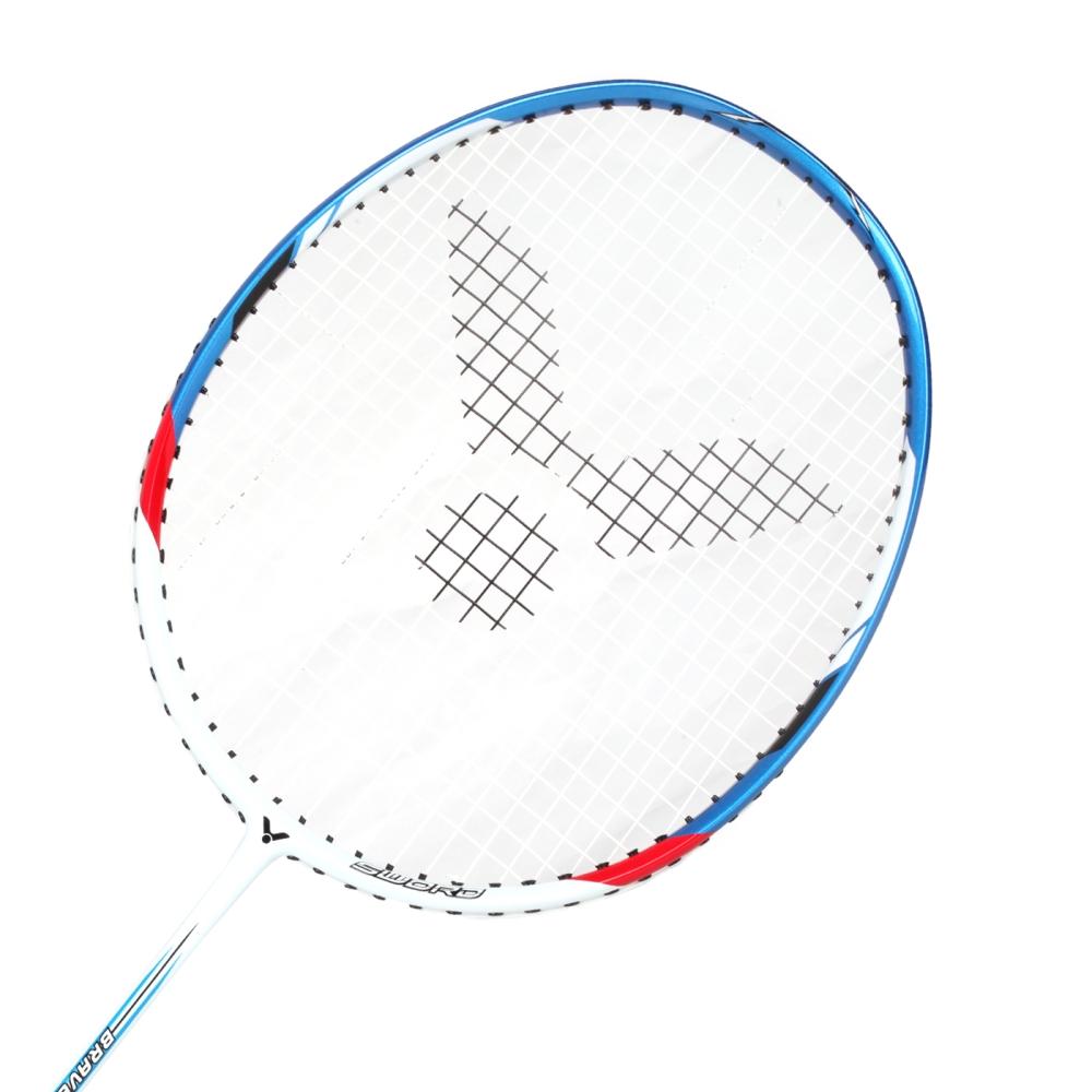 VICTOR 亮劍穿線拍-4U-羽毛球拍 勝利 羽球 白藍紅@BRS-1900AF-4U@