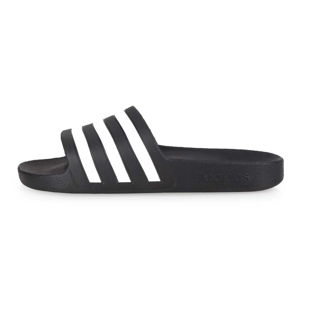 ADIDAS 男女運動拖鞋-沙灘 海邊 戲水 愛迪達 黑白@F35543@