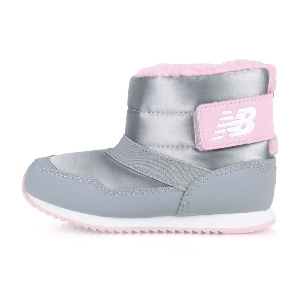 NEWBALANCE NEW BALANCE-WIDE 男女小童保暖短筒靴-童鞋 NB 996系列 灰粉紅白@IO996BTY@