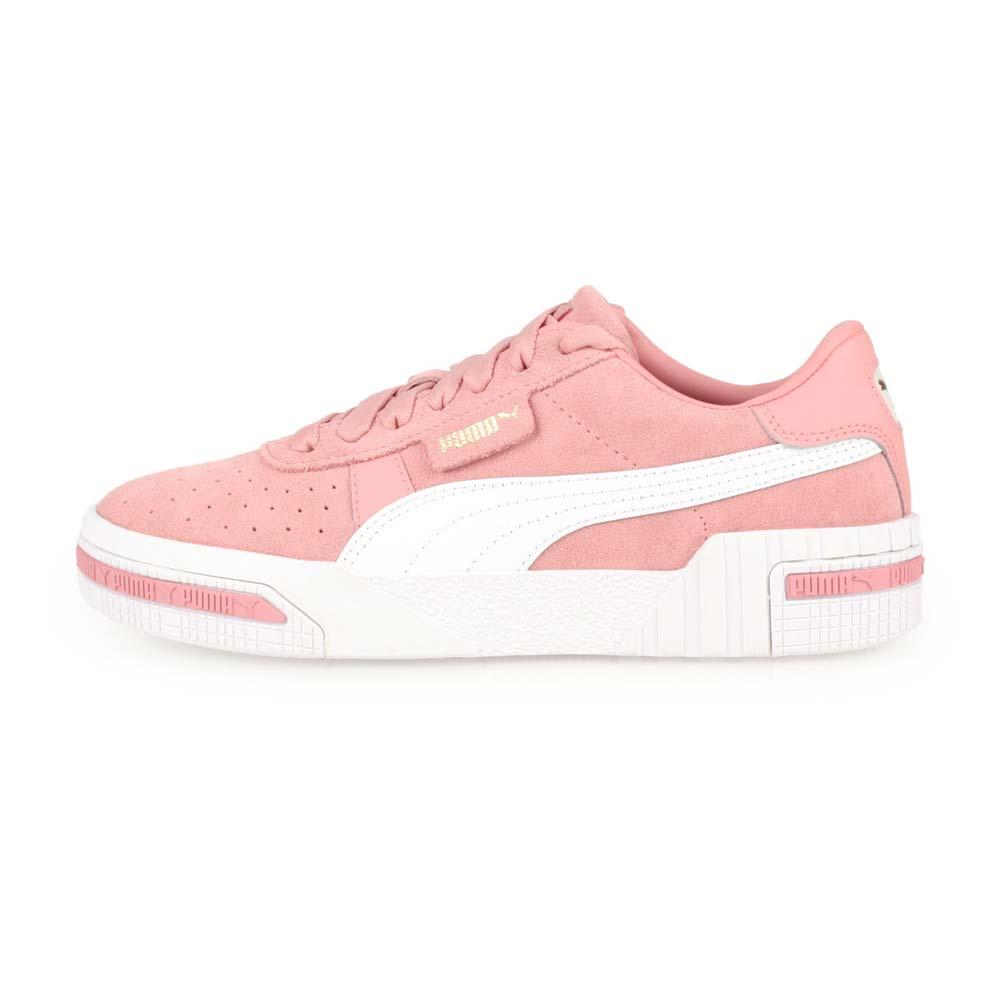 PUMA CALI TAPED WNS 女復古休閒鞋-運動鞋 復古 珊瑚粉白@37081904@