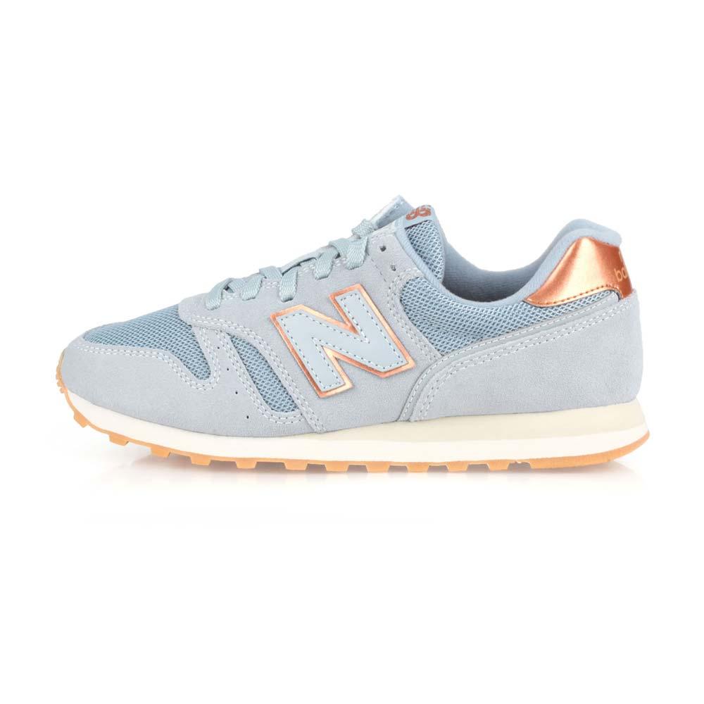 NEWBALANCE 女復古慢跑鞋-NB N字鞋 373系列 粉藍玫瑰金@WL373CB2@