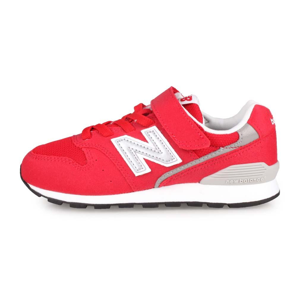 NEWBALANCE NEW BALANCE男女中童復古慢跑鞋-WIDE-寬楦 NB 996系列 紅灰白@YV996CRE@
