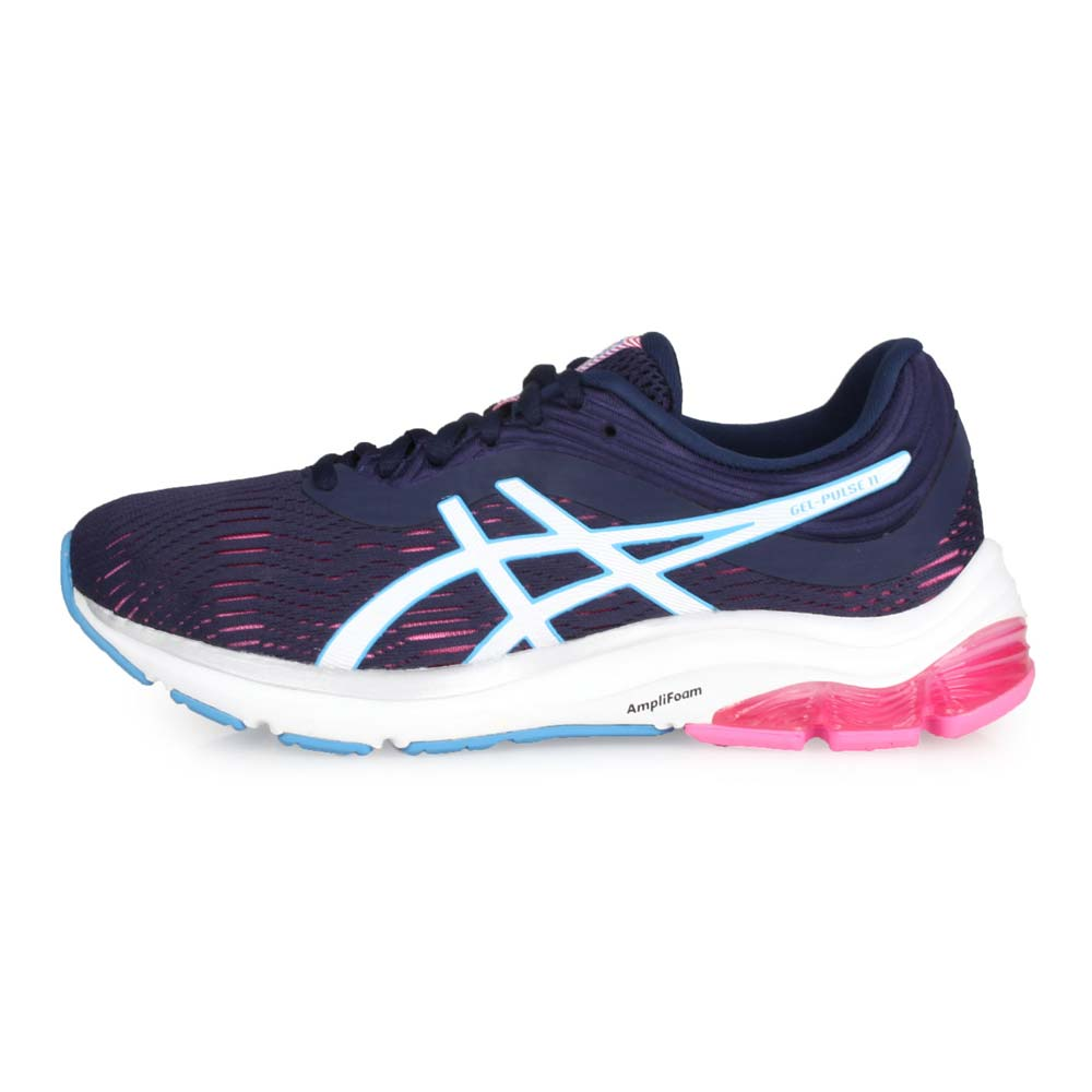 ASICS GEL-PULSE 11 女慢跑鞋-路跑 亞瑟士 丈青藍白@1012A467-402@