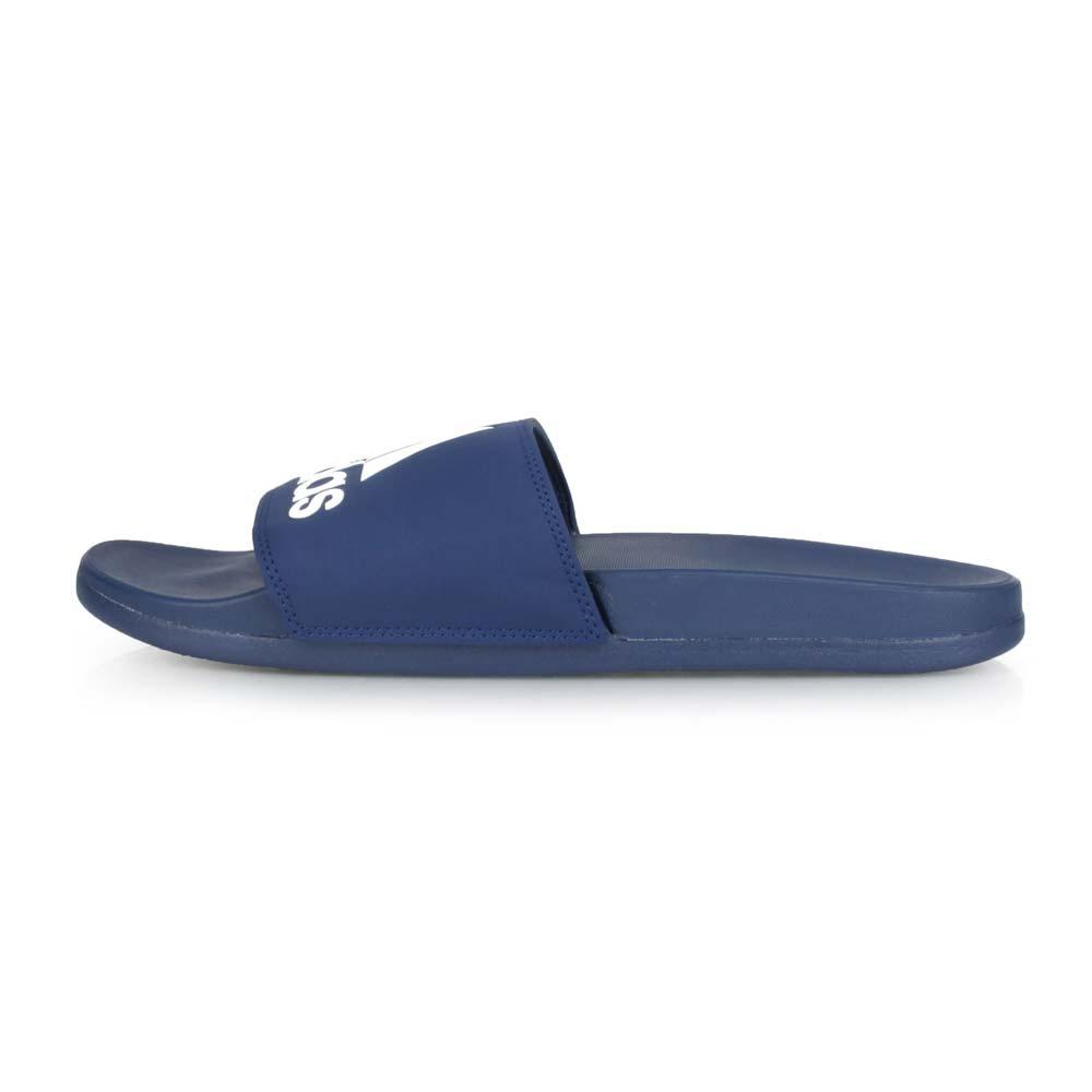 ADIDAS 男運動拖鞋-沙灘 戲水 游泳 海邊 愛迪達 丈青白@B44870@