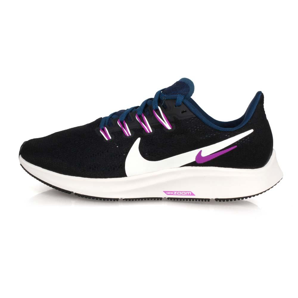 NIKE WMNS AIR ZOOM PEGASUS 36 女慢跑鞋-飛馬 黑紫白墨藍@AQ2210012@