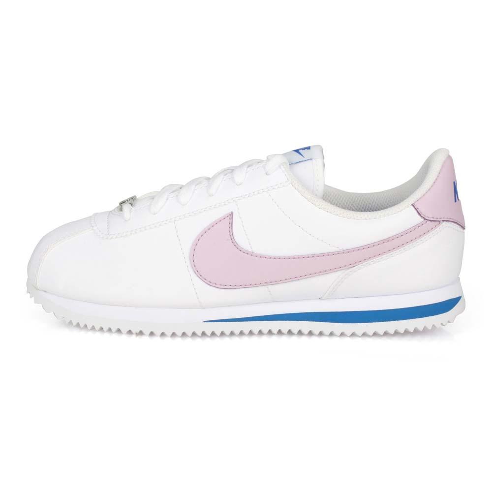 NIKE CORTEZ BASIC SLGS 女休閒鞋-慢跑 路跑 阿甘鞋 白藍紫@904764108@
