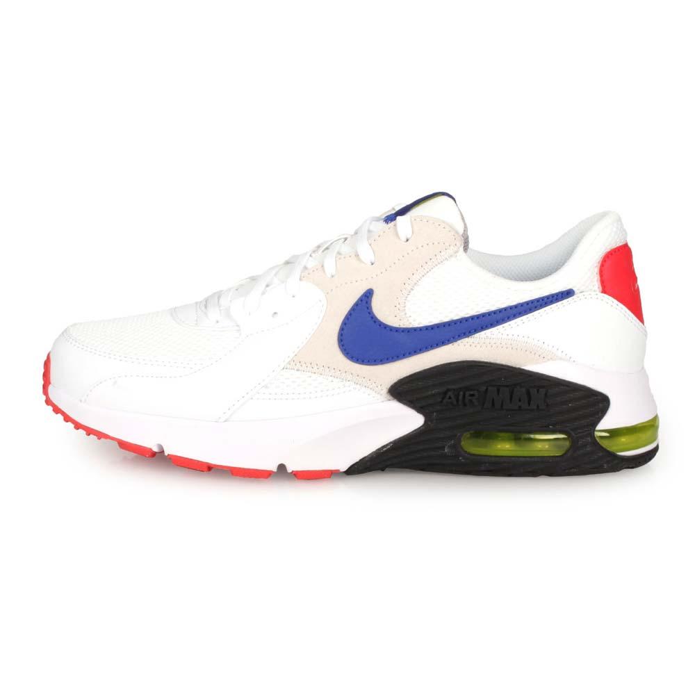 NIKE AIR MAX EXCEE 男休閒運動鞋-慢跑 氣墊 白藍黑@CD4165101@