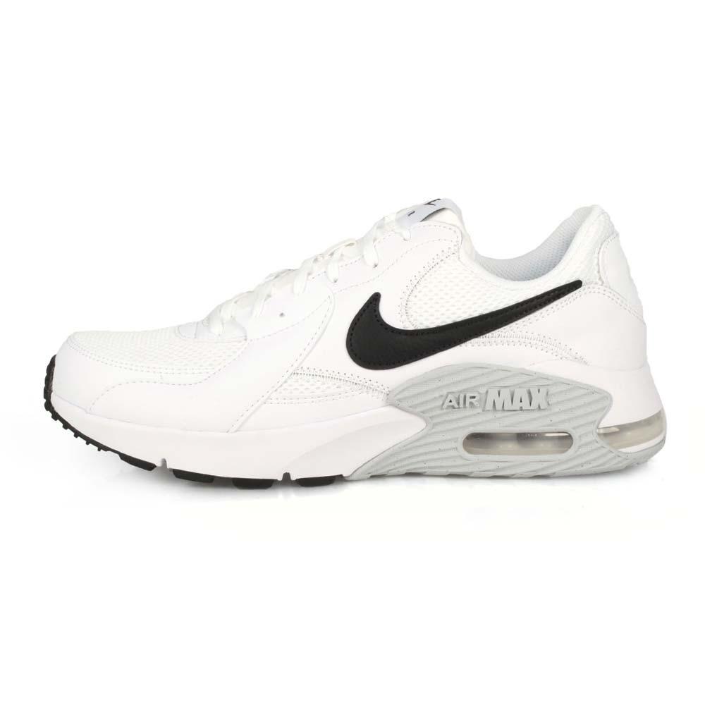 NIKE AIR MAX EXCEE 男休閒運動鞋-慢跑 氣墊 白黑灰@CD4165100@