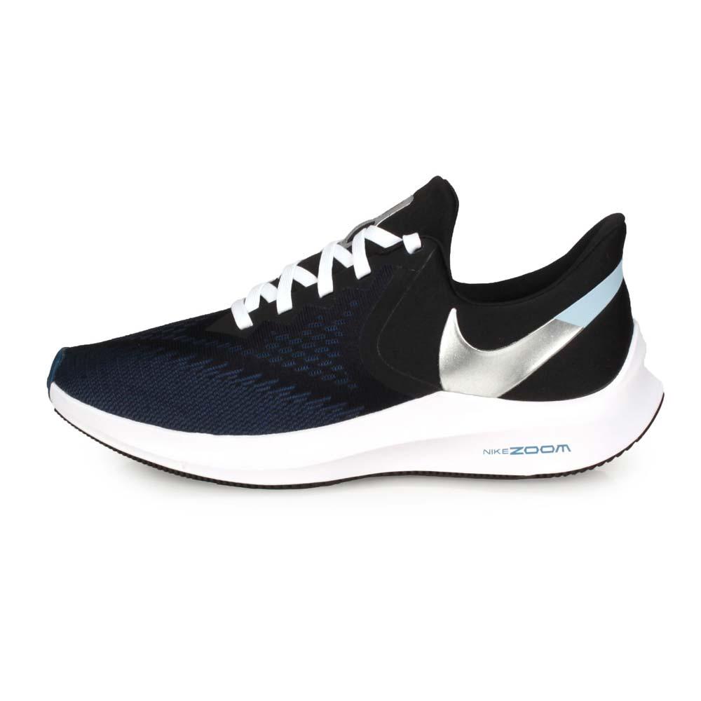 NIKE ZOOM WINFLO 6 男慢跑鞋-氣墊 馬拉松 黑丈青銀@CU2990001@