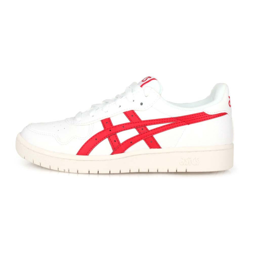 ASICS JAPAN S 女休閒運動鞋-慢跑 亞瑟士 復古 白紅@1192A148-100@