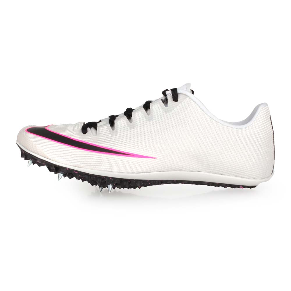NIKE ZOOM 400 男女田徑釘鞋-短距離  附鞋袋 競賽 灰黑粉@AA1205003@