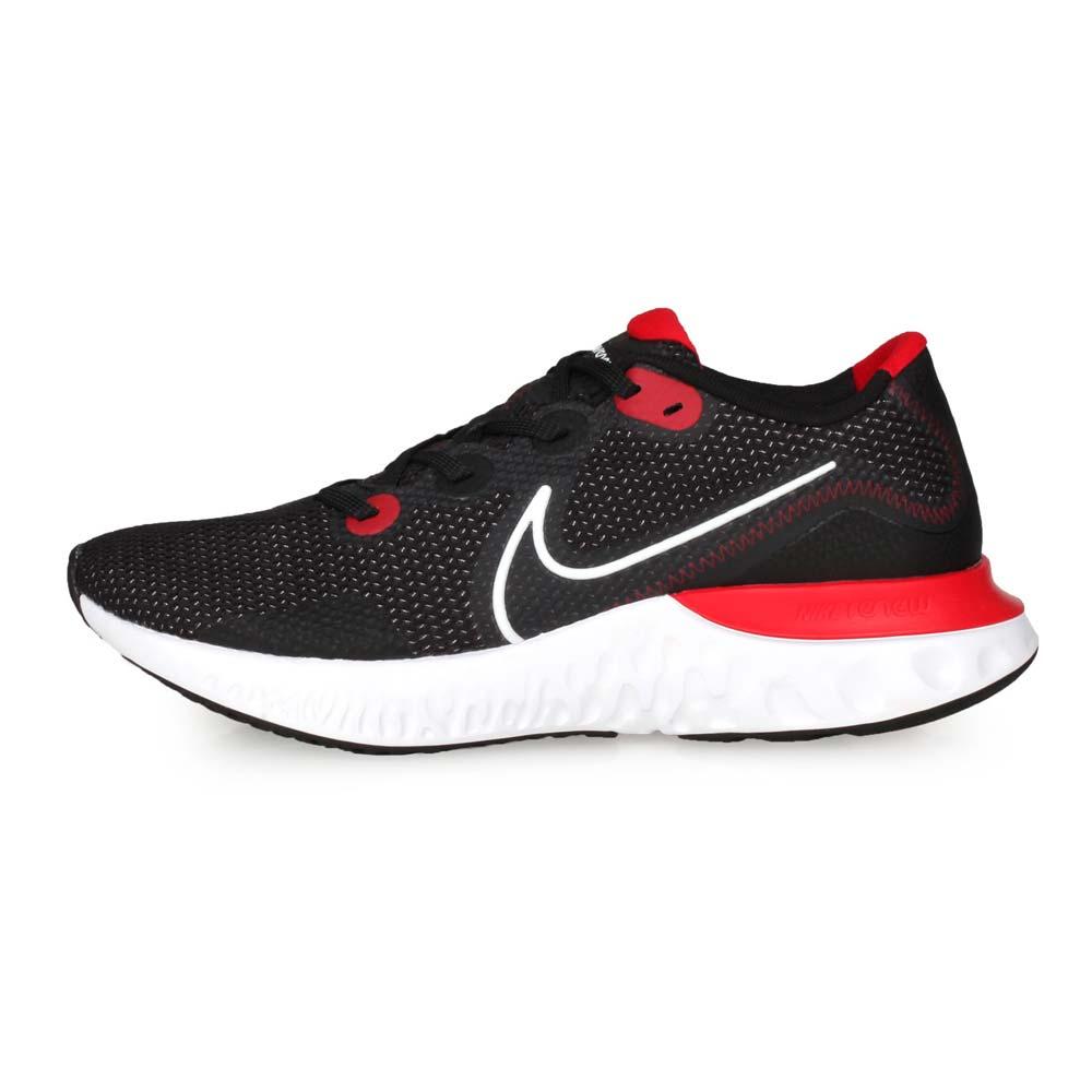 NIKE RENEW RUN 男慢跑鞋-路跑 網布 避震 運動 黑白紅@CK6357005@