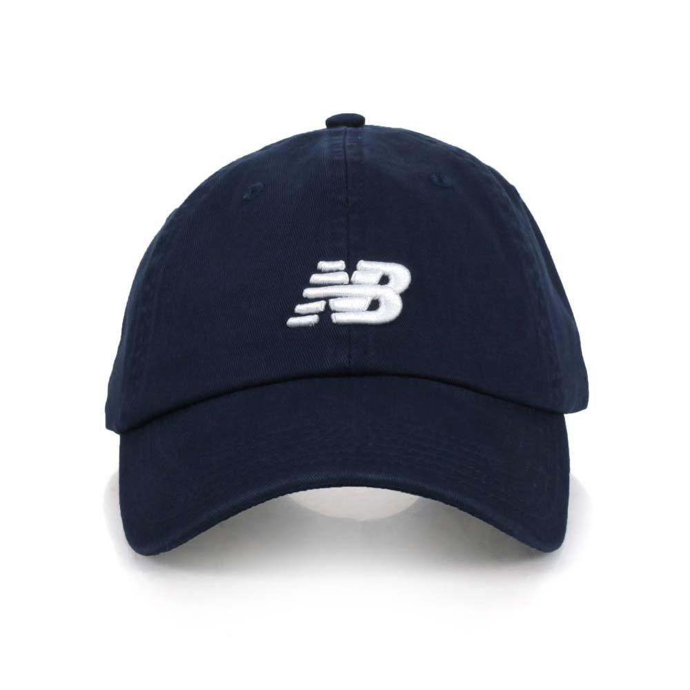 NEWBALANCE 棒球帽-遮陽 防曬 鴨舌帽 棒球 NB 帽子 丈青@LAH91014NGO@