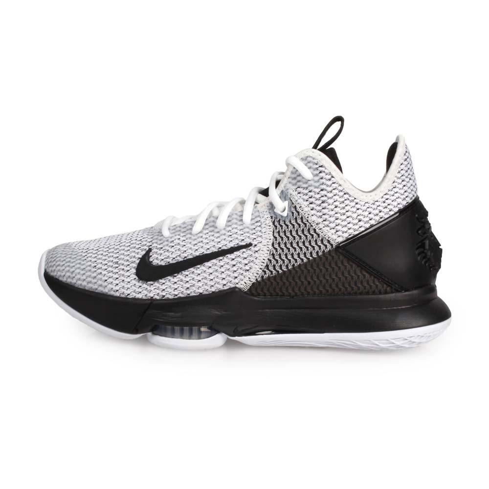 NIKE LEBRON WITNESS IV EP 限量-男籃球鞋-高筒 避震 黑白@CD0188101@