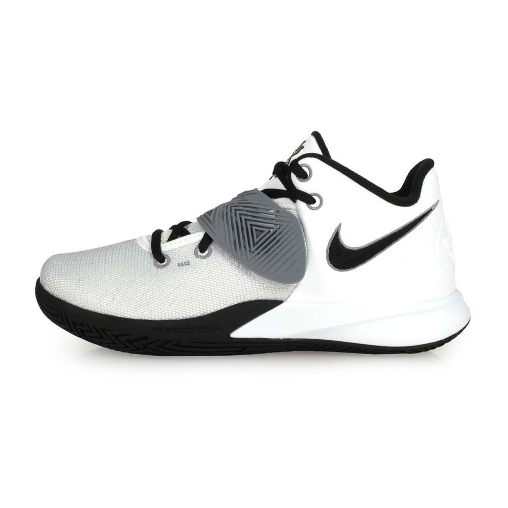 NIKE KYRIE FLYTRAP III EP 男籃球鞋-訓練 KI 厄文 灰白黑@CD0191103@