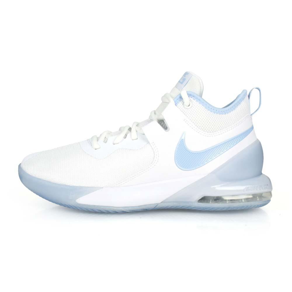 NIKE AIR MAX IMPACT 男籃球鞋-訓練 氣墊 中筒 白粉藍@CI1396100@