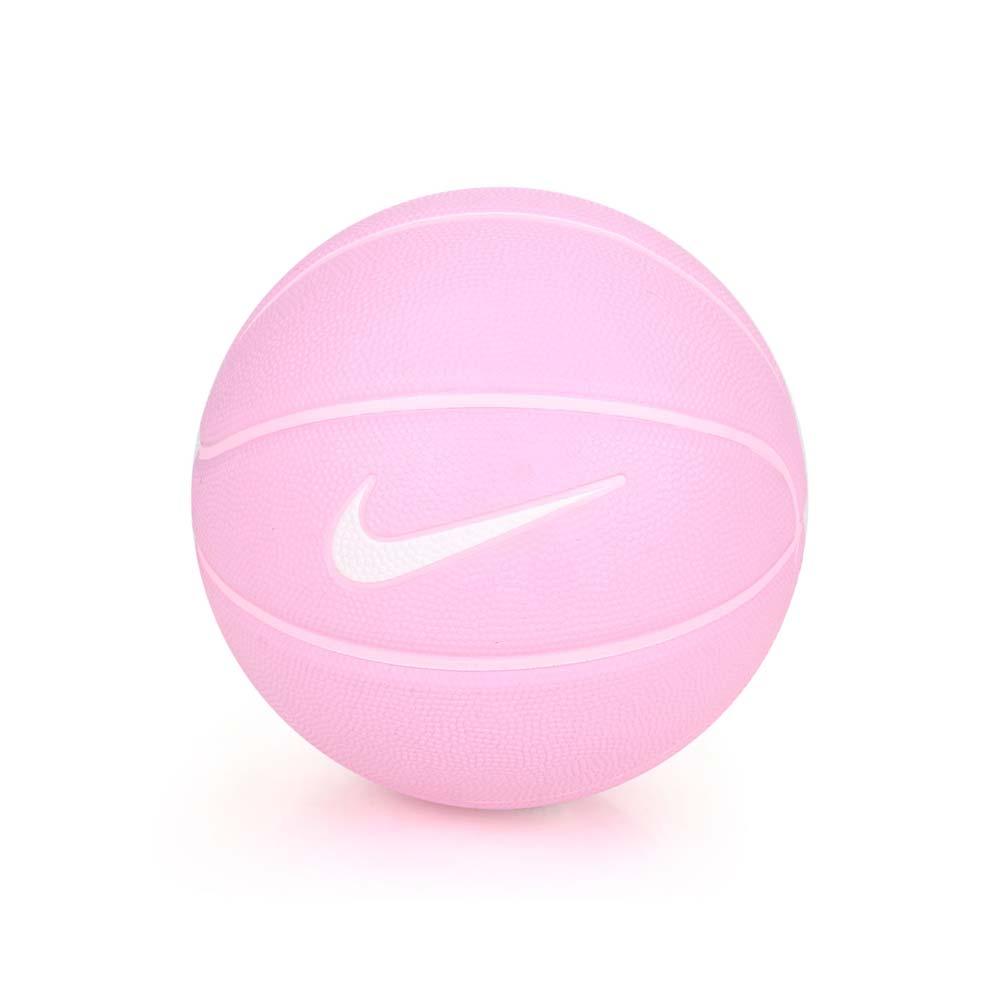 NIKE SKILLS 3號籃球-室內 戶外 3號球 兒童 粉紅白@N000128565503@