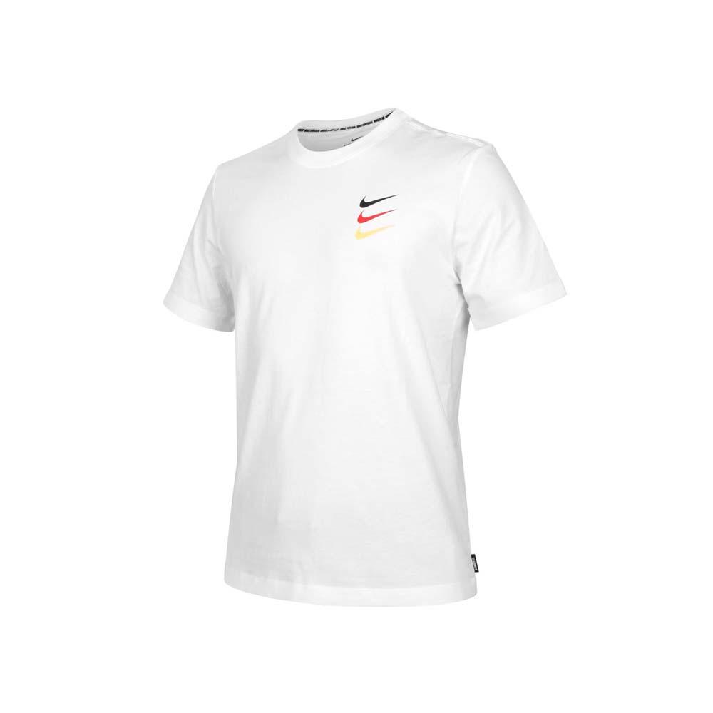NIKE 男短袖T恤-FC 足球 純棉 運動上衣 慢跑 路跑 休閒 白黑紅橘@CT8432-100@