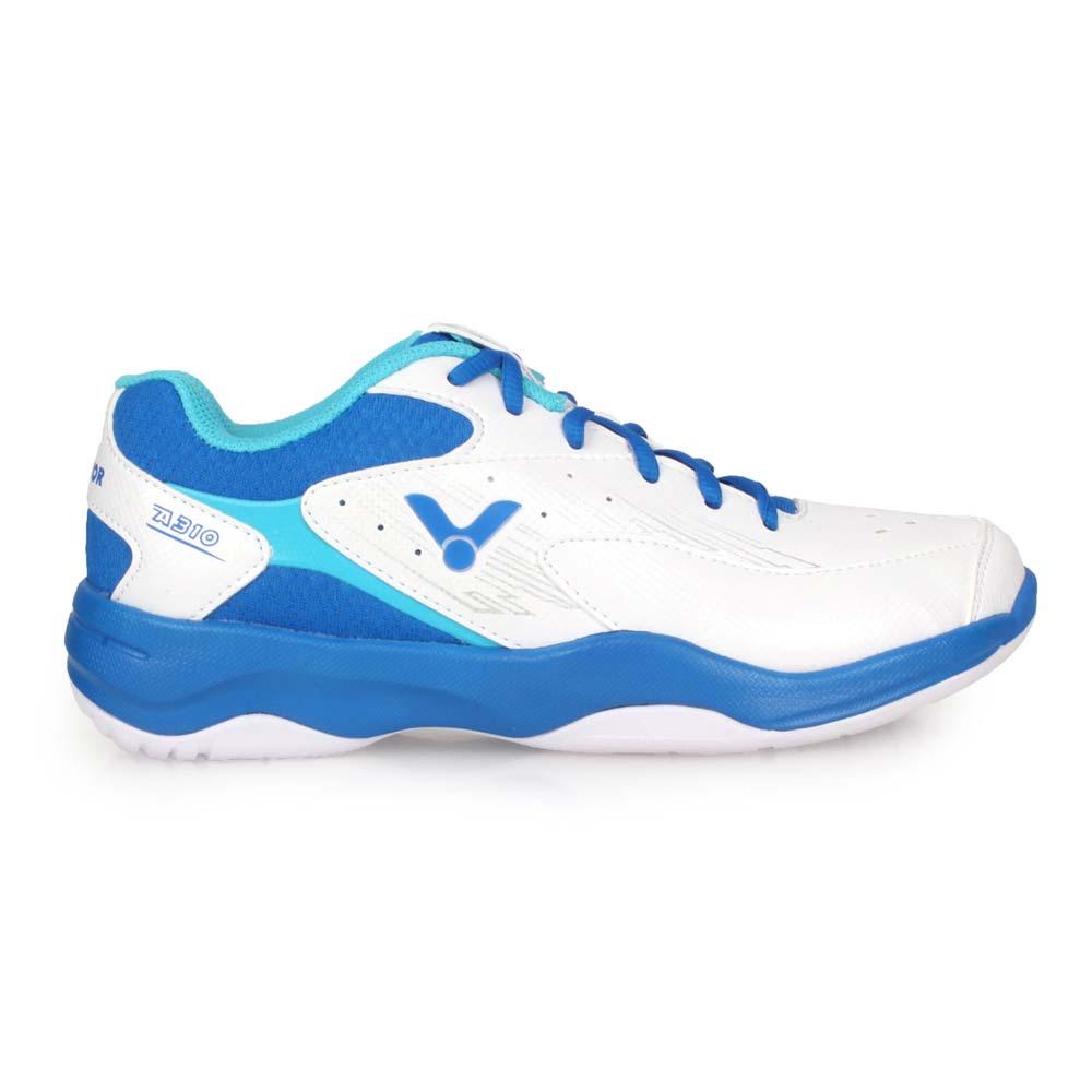 VICTOR 男專業羽球鞋-3E-訓練 羽毛球 寬楦 透氣 勝利 U型楦 白藍銀@A310-AF@