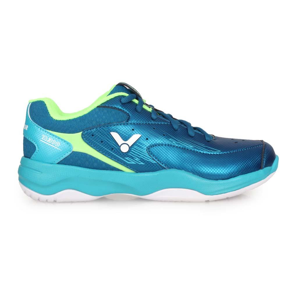 VICTOR 男專業羽球鞋-3E-訓練 羽毛球 寬楦 透氣 勝利 U型楦 靛青碧藍綠@A310-FU@