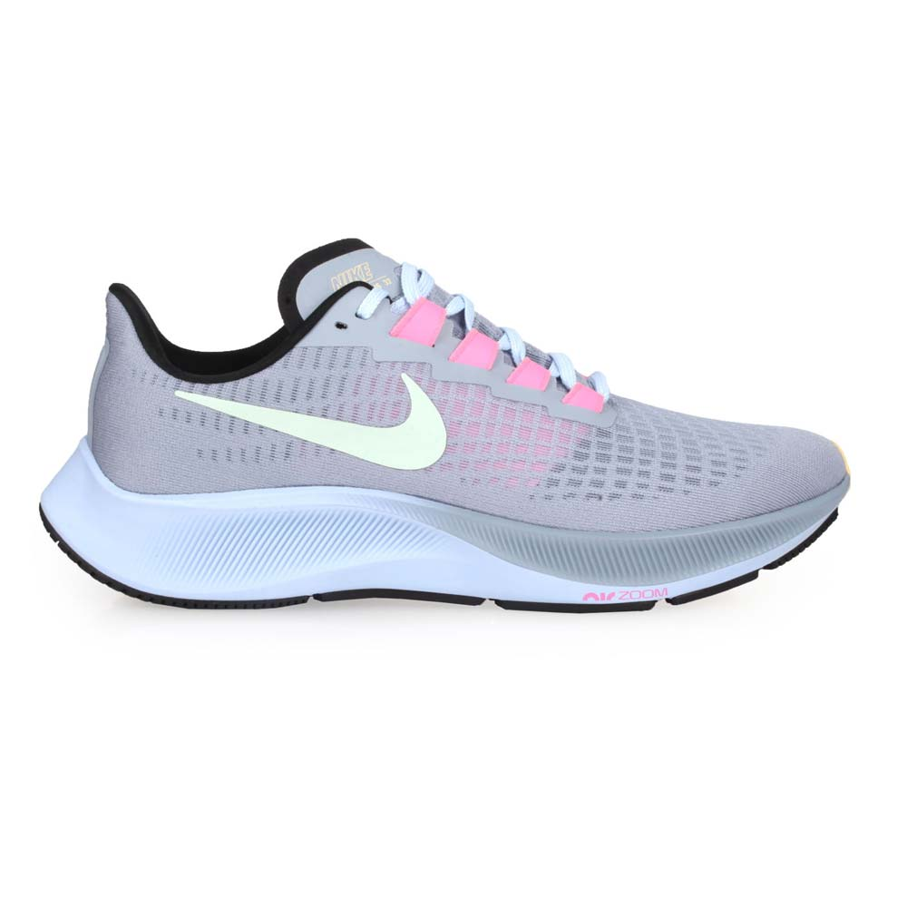 NIKE AIR ZOOM PEGASUS 37 男慢跑鞋-運動 路跑 飛馬 紫淺綠粉紅@BQ9646401@