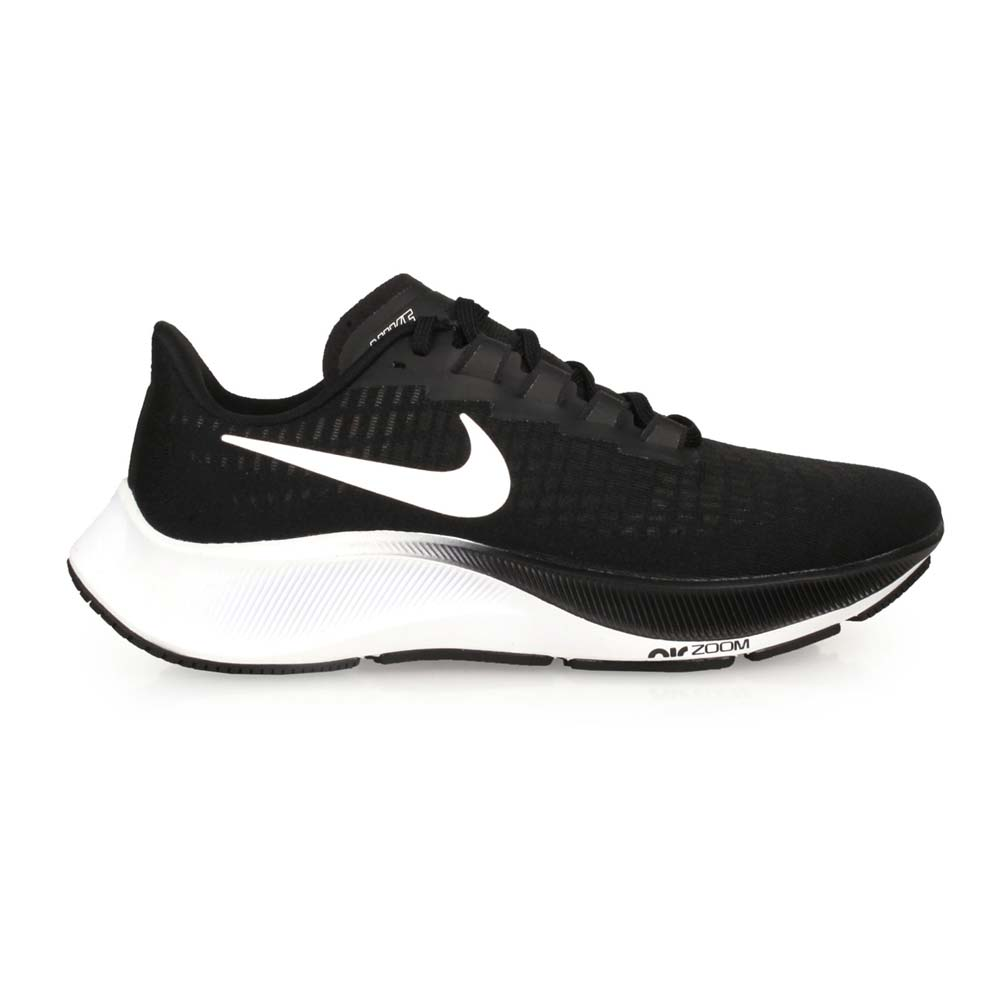 NIKE WMNS AIR ZOOM PEGASUS 37 女慢跑鞋-路跑 飛馬 黑白@BQ9647002@
