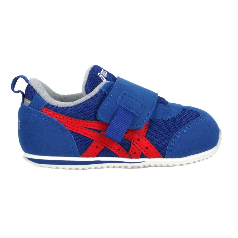 ASICS IDAHO BABY OP 男女小童休閒運動鞋-慢跑 亞瑟士 童鞋 藍紅@1144A158-400@
