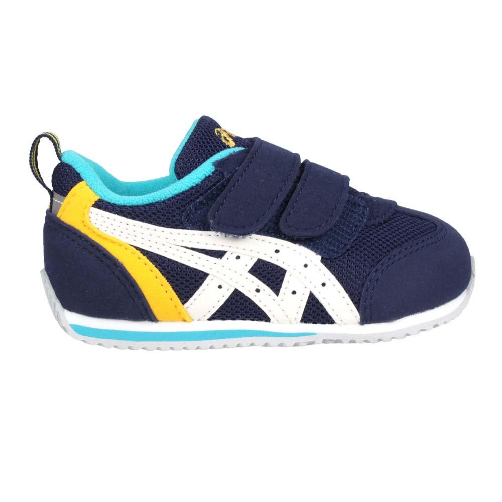 ASICS IDAHO BABY 3 男女兒童運動鞋-慢跑 亞瑟士 童鞋 丈青白黃@TUB165-5001@