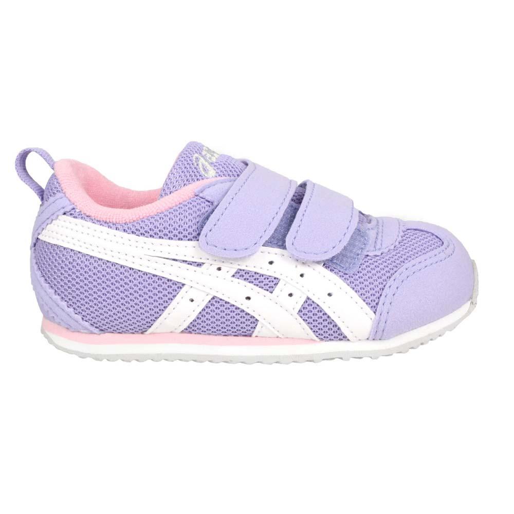 ASICS MEXICO NARROW BABY 4 男女小童運動鞋-魔鬼氈 慢跑 粉紫白@1144A008-500@