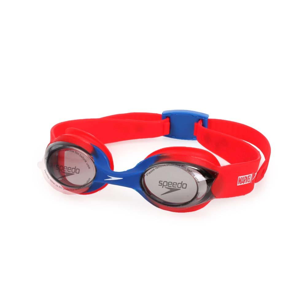 SPEEDO 幼童運動泳鏡-蜘蛛人-游泳 戲水 海邊 沙灘 漫威 紅藍白@SD812115F278@